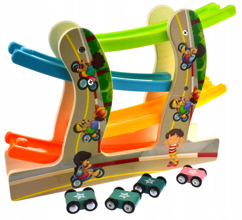 Automobilių nusileidimo trasa su mašinytėmis