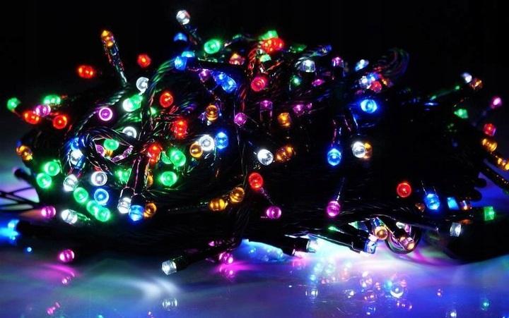 Kalėdinė girlianda 100 LED (įvairiaspalvė)