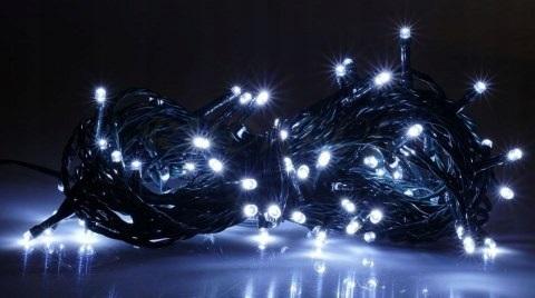 Kalėdinė girlianda 200 LED (balta)