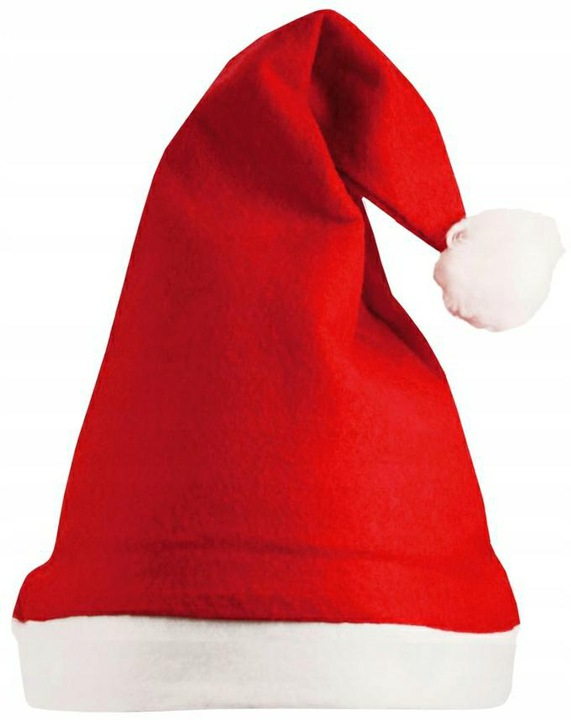 Raudona Kalėdinė kepurė