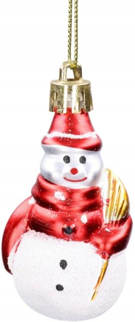 Kalėdiniai žaisliukai – Besmegeniai 6 vnt.