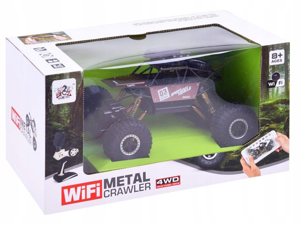 RC automobilis 4×4 + WiFi kamera