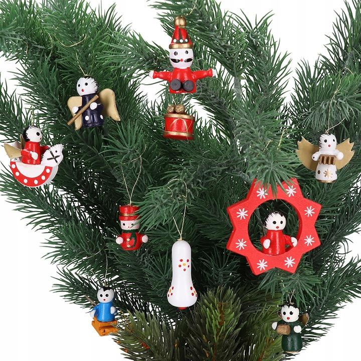 Mediniai kalėdiniai žaisliukai – Angeliukai