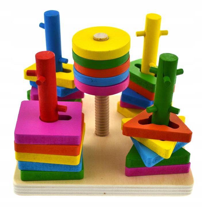 Žaislas – medinė dėlionė Figūros