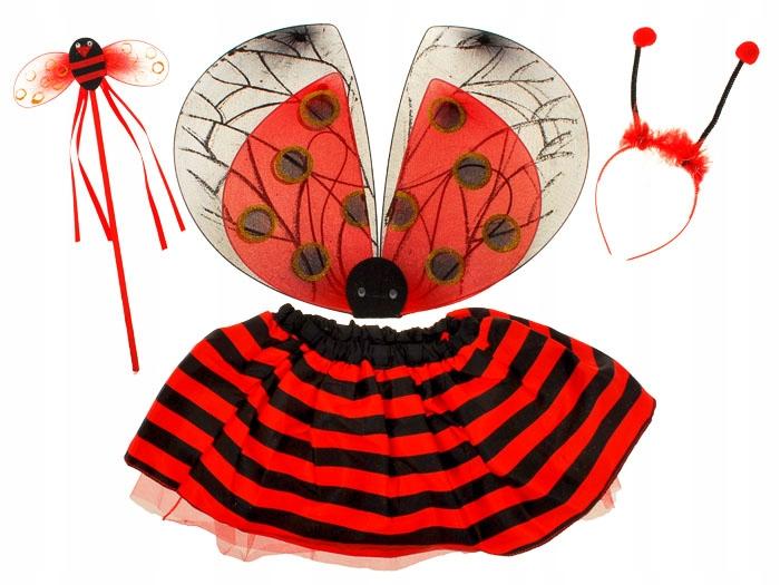 Mergaitiškas boružėlės kostiumas
