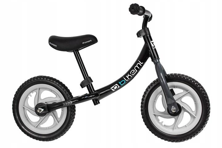 Balansinis dviratis BikeMi juodas