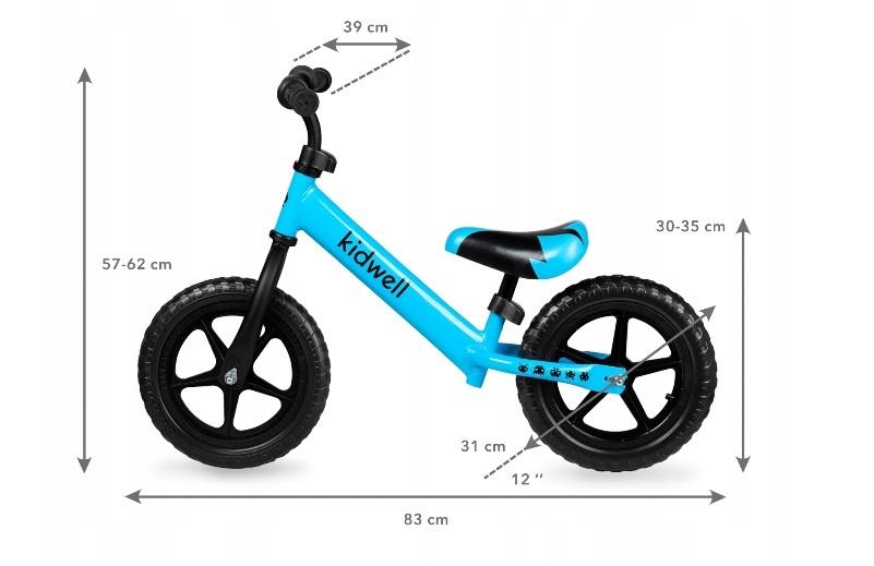 Balansinis dviratukas Kidwell REBEL mėlynas
