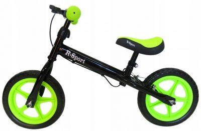 Balansinis dviratukas R4 žalias