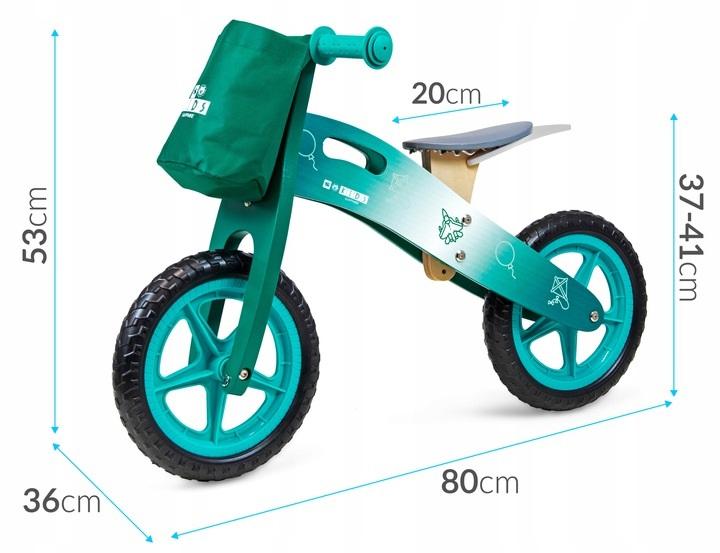 Balansinis dviratukas Kids Saphirre