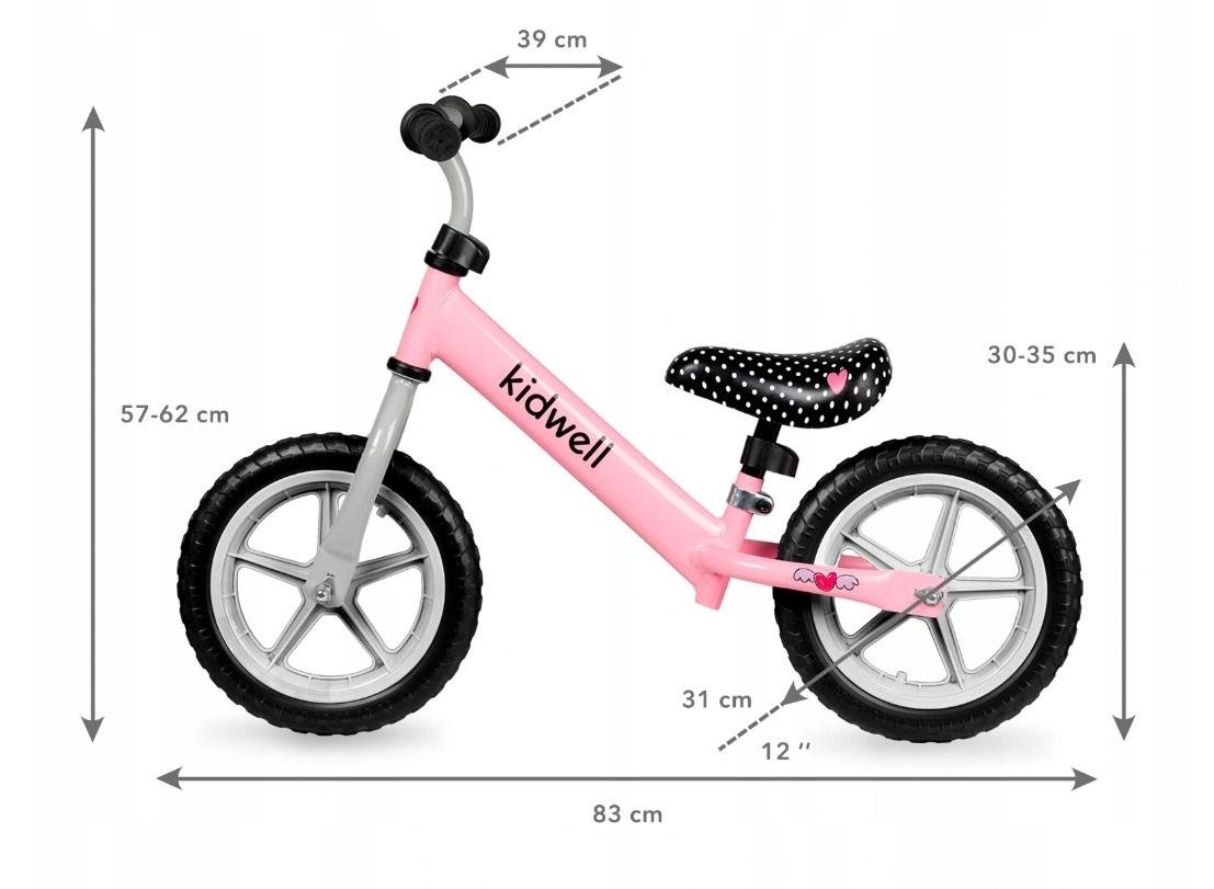 Balansinis dviratukas Kidwell REBEL rožinis