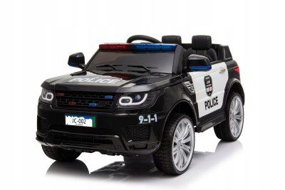 Vaikiškas policijos elektromobilis