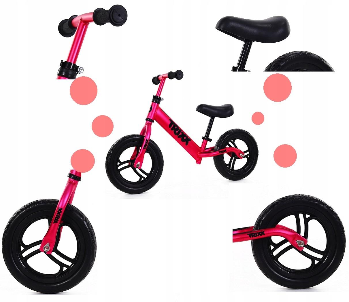 Labai lengvas balansinis dviratukas TRIXX 1,9 kg