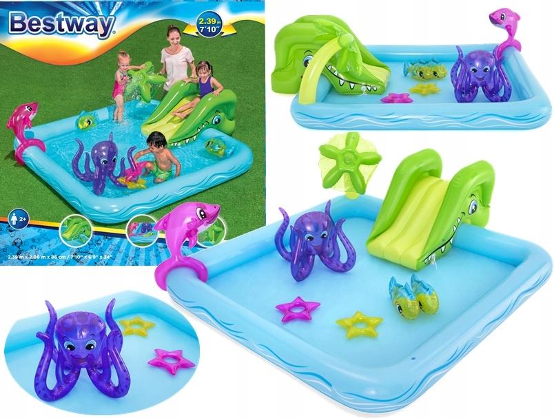 Bestway baseinas su čiuožykla ir žaislais