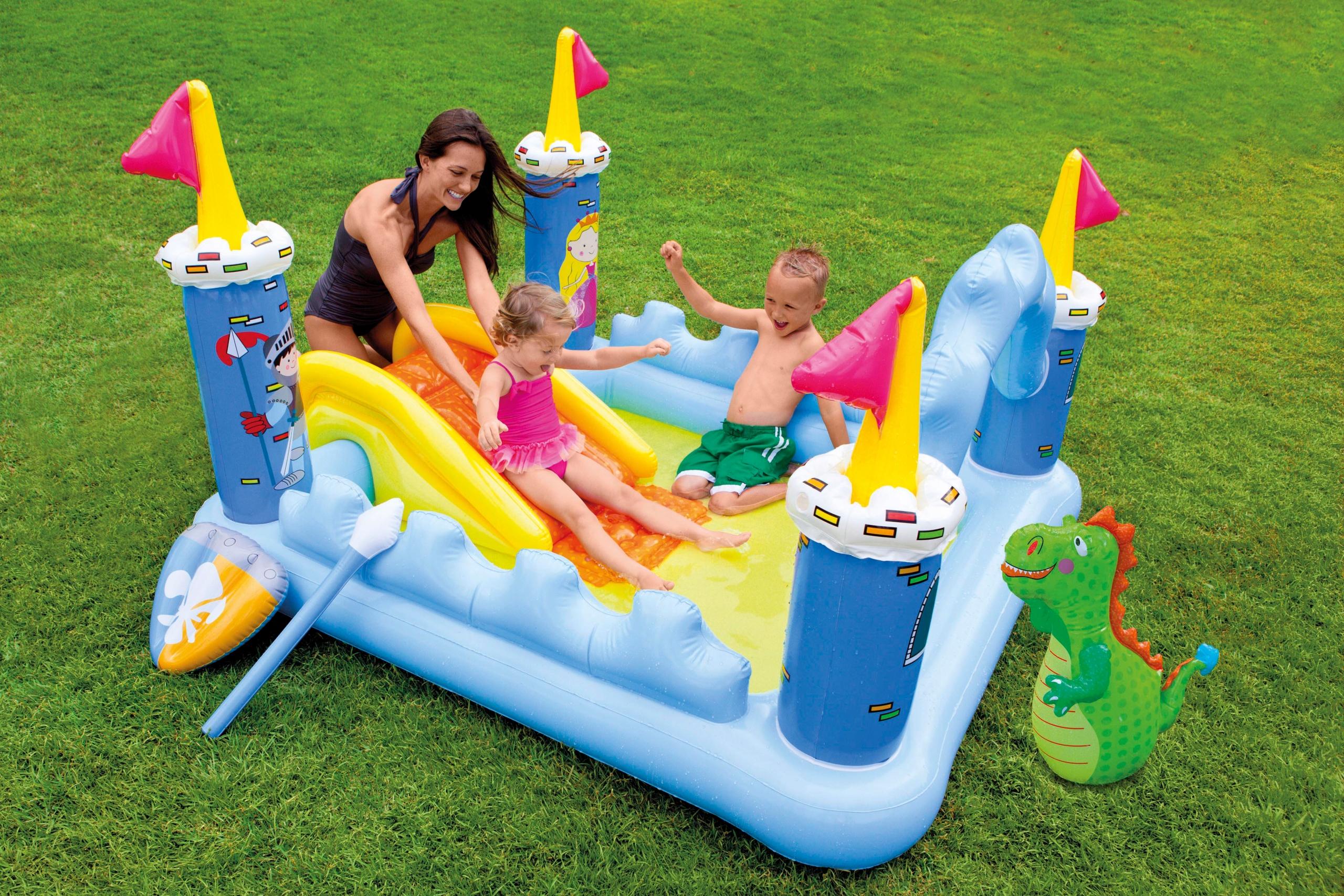 Intex vaikiškas baseinas Pilis