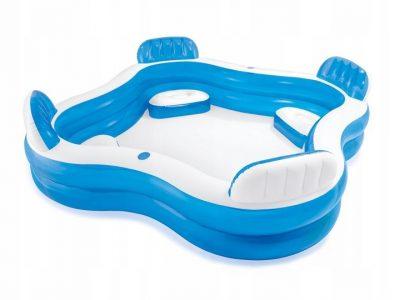 Intex pripučiamas baseinas šeimai 2,29 x 2,29 m